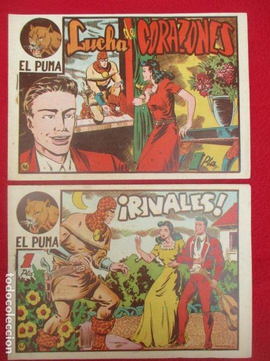 Tebeos: LOTE 48 TEBEOS EL PUMA 1ª SERIE MARCO ORIGINAL - Foto 40 - 224962356