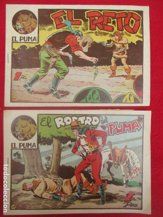 Tebeos: LOTE 48 TEBEOS EL PUMA 1ª SERIE MARCO ORIGINAL - Foto 42 - 224962356
