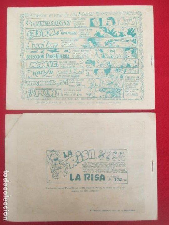 Tebeos: LOTE 48 TEBEOS EL PUMA 1ª SERIE MARCO ORIGINAL - Foto 43 - 224962356