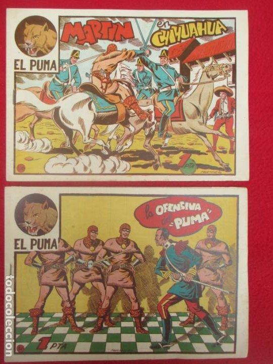 Tebeos: LOTE 48 TEBEOS EL PUMA 1ª SERIE MARCO ORIGINAL - Foto 44 - 224962356