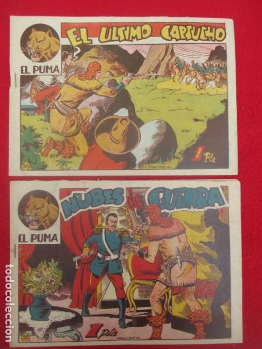 Tebeos: LOTE 48 TEBEOS EL PUMA 1ª SERIE MARCO ORIGINAL - Foto 46 - 224962356