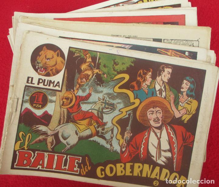 LOTE 48 TEBEOS EL PUMA 1ª SERIE MARCO ORIGINAL (Tebeos y Comics - Marco - Otros)