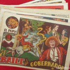 Tebeos: LOTE 48 TEBEOS EL PUMA 1ª SERIE MARCO ORIGINAL. Lote 224962356