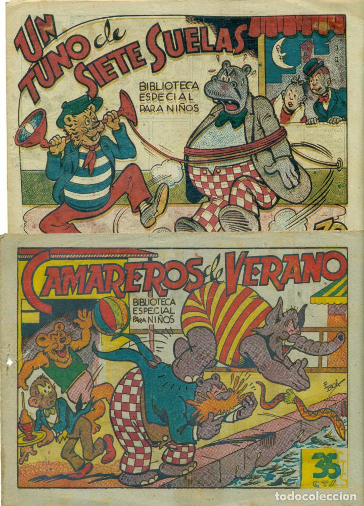 BIBLIOTECA ESPECIAL PARA NIÑOS LOTE DE DOS EJEMPLARES EDITORIAL MARCO. REBAJADO (Tebeos y Comics - Marco - Hipo (Biblioteca especial))
