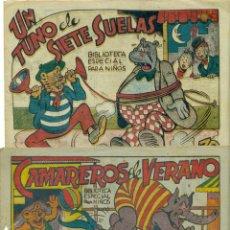 Tebeos: BIBLIOTECA ESPECIAL PARA NIÑOS LOTE DE DOS EJEMPLARES EDITORIAL MARCO. REBAJADO. Lote 225576847