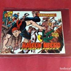 Tebeos: EL HALCON NEGRO Nº 13 ARRESTADOS AÑO 1959 ORIGINAL -IMPECABLE ESTADO-. Lote 226004790