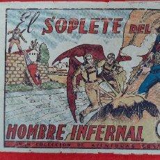 Tebeos: EL SOPLETE DEL HOMBRE INFERNAL COLECCION AVENTURAS GRAFICAS MARCO ANTIGUO ORIGINAL CT3. Lote 226846315