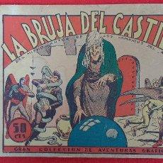 Tebeos: LA BRUJA DEL CASTILLO COLECCION AVENTURAS GRAFICAS MARCO ANTIGUO ORIGINAL CT3. Lote 226846835