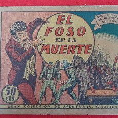 Tebeos: EL FOSO DE LA MUERTE COLECCION AVENTURAS GRAFICAS MARCO ANTIGUO ORIGINAL CT3. Lote 226847425