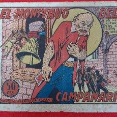 Tebeos: EL MONSTRUO DEL CAMPANARIO COLECCION AVENTURAS GRAFICAS MARCO ANTIGUO ORIGINAL CT3A. Lote 226847845