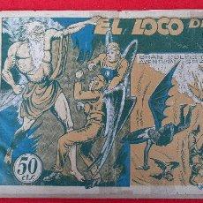 Tebeos: EL LOCO DE LA CAVERNA COLECCION AVENTURAS GRAFICAS MARCO ANTIGUO ORIGINAL CT3. Lote 226848440