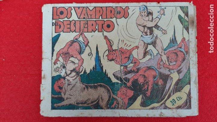 LOS VAMPIROS DEL DESIERTO COLECCION AVENTURAS GRAFICAS MARCO ANTIGUO ORIGINAL CT3 (Tebeos y Comics - Marco - Otros)