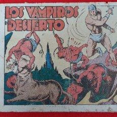 Tebeos: LOS VAMPIROS DEL DESIERTO COLECCION AVENTURAS GRAFICAS MARCO ANTIGUO ORIGINAL CT3. Lote 226848784