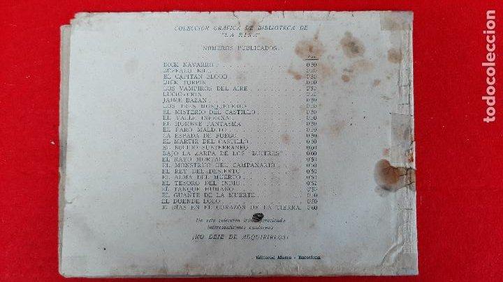 Tebeos: LA BANDA DEL LOBO CESAR EL HOMBRE RELAMPAGO Nº 1 MARCO ANTIGUO ORIGINAL CT3 - Foto 2 - 226849575
