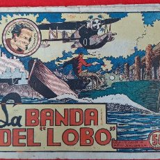 Tebeos: LA BANDA DEL LOBO CESAR EL HOMBRE RELAMPAGO Nº 1 MARCO ANTIGUO ORIGINAL CT3. Lote 226849575