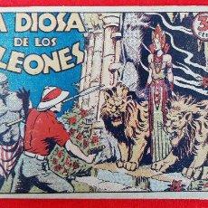Tebeos: LA DIOSA DE LOS LEONES COLECCION GRAFICA MARCO ANTIGUO ORIGINAL CT3. Lote 226851499