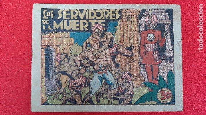 LOS SERVIDORES DE LA MUERTE COLECCION GRAFICA MARCO ANTIGUO ORIGINAL CT3 (Tebeos y Comics - Marco - Otros)