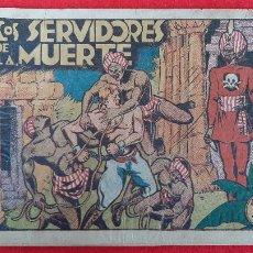 Tebeos: LOS SERVIDORES DE LA MUERTE COLECCION GRAFICA MARCO ANTIGUO ORIGINAL CT3. Lote 226851765