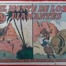 Tebeos: EL MONTE DE LOS DIAMANTES COLECCION AVENTURAS GRAFICAS MARCO ANTIGUO ORIGINAL CT3. Lote 226854285