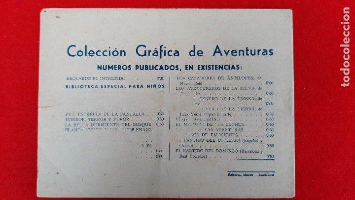 Tebeos: LA CIUDAD SEPULTADA COLECCION AVENTURAS GRAFICAS MARCO ANTIGUO ORIGINAL CT3 - Foto 2 - 226854835