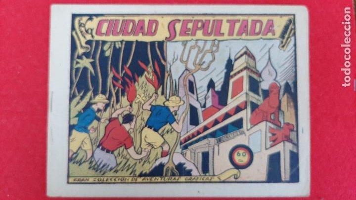 LA CIUDAD SEPULTADA COLECCION AVENTURAS GRAFICAS MARCO ANTIGUO ORIGINAL CT3 (Tebeos y Comics - Marco - Otros)