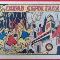 Tebeos: LA CIUDAD SEPULTADA COLECCION AVENTURAS GRAFICAS MARCO ANTIGUO ORIGINAL CT3. Lote 226854835
