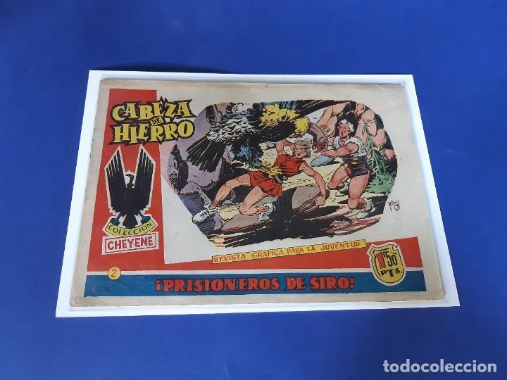 CABEZA DE HIERRO Nº 2 -ORIGINAL -EDITORIAL MARCO (Tebeos y Comics - Marco - Otros)