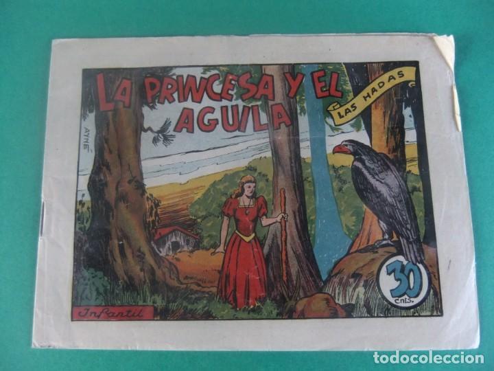 LA PRINCESA Y EL AGUILA COLECCION LAS HADAS EDITORIAL MARCO (Tebeos y Comics - Marco - Otros)