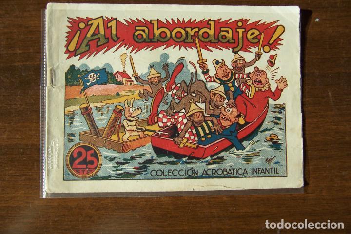 MARCO,- ACROBATICA INFANTIL, Nº AL ABORDAJE (Tebeos y Comics - Marco - Acrobática Infantil)