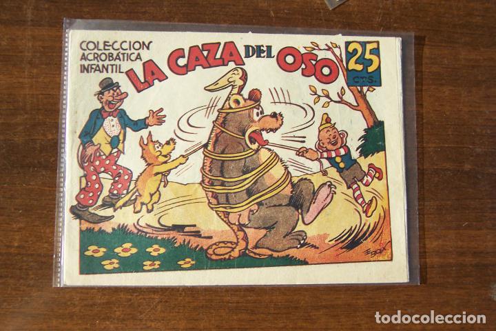 MARCO,- ACROBATICA INFANTIL, Nº LA CAZA DEL OSO (Tebeos y Comics - Marco - Acrobática Infantil)