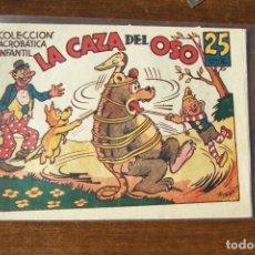 Tebeos: MARCO,- ACROBATICA INFANTIL, Nº LA CAZA DEL OSO. Lote 231201595