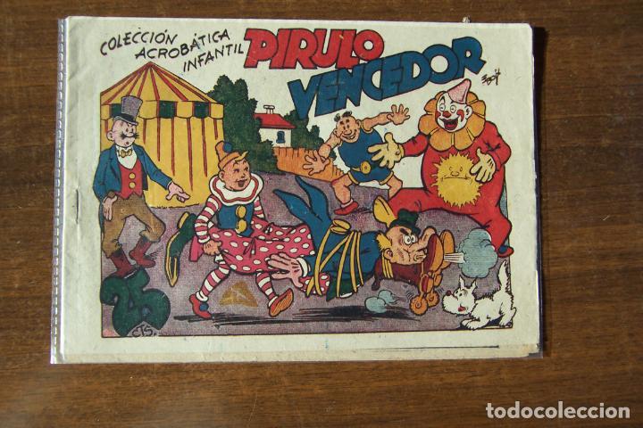 MARCO,- ACROBATICA INFANTIL, Nº PIRULO VENCEDOR (Tebeos y Comics - Marco - Acrobática Infantil)