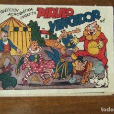 Tebeos: MARCO,- ACROBATICA INFANTIL, Nº PIRULO VENCEDOR. Lote 231201810