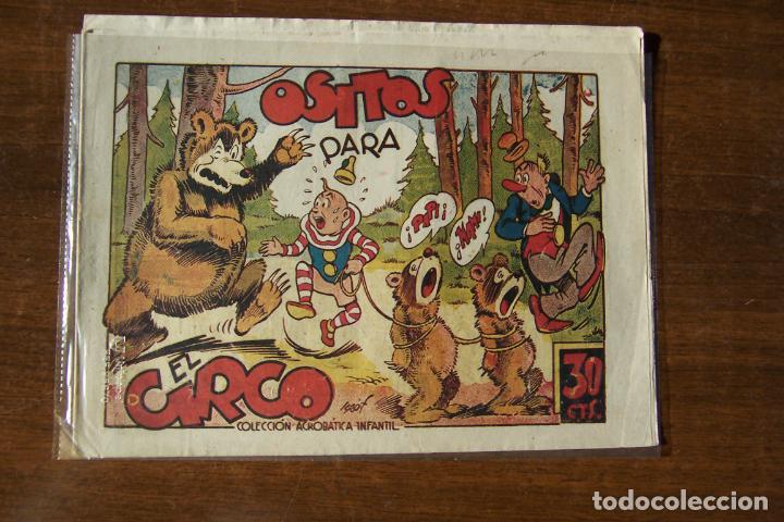 MARCO,- ACROBATICA INFANTIL, Nº OSITOS PARA EL CIRCO (Tebeos y Comics - Marco - Acrobática Infantil)