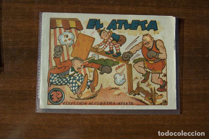 MARCO,- ACROBATICA INFANTIL, Nº EL ATLETA (Tebeos y Comics - Marco - Acrobática Infantil)