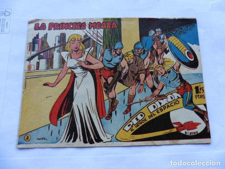 Tebeos: RED DIXON TERCERA SERIE 15 CUADERNILLOS ORIGINAL - Foto 3 - 232412135
