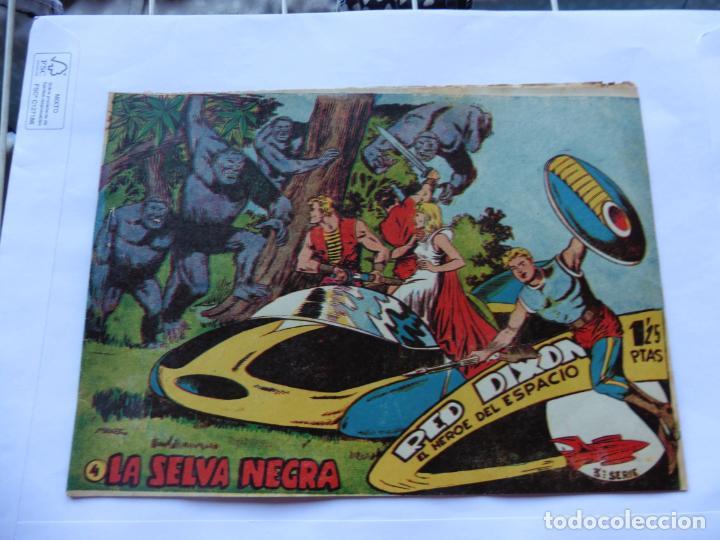 Tebeos: RED DIXON TERCERA SERIE 15 CUADERNILLOS ORIGINAL - Foto 5 - 232412135