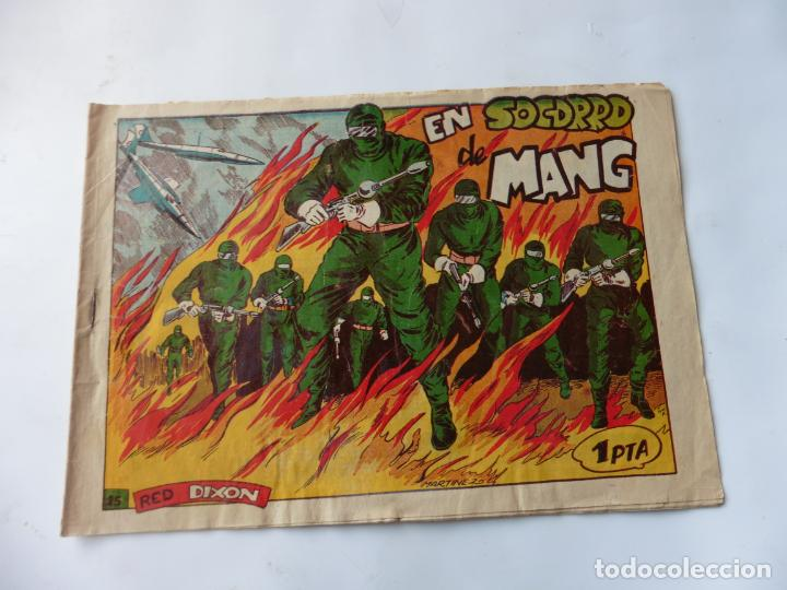 RED DIXON 1ª SERIE Nº25 MARCO ORIGINAL (Tebeos y Comics - Marco - Red Dixon)