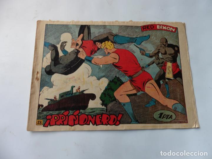 RED DIXON 1ª SERIE Nº28 MARCO ORIGINAL (Tebeos y Comics - Marco - Red Dixon)