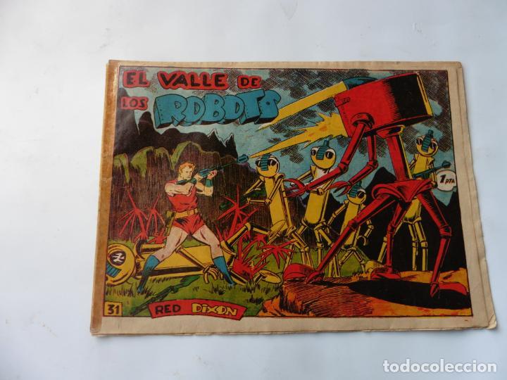 RED DIXON 1ª SERIE Nº31 MARCO ORIGINAL (Tebeos y Comics - Marco - Red Dixon)