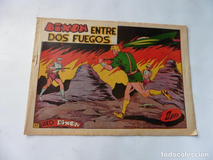 RED DIXON 1ª SERIE Nº37 MARCO ORIGINAL (Tebeos y Comics - Marco - Red Dixon)