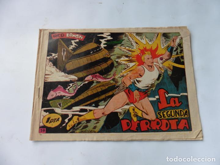 RED DIXON 1ª SERIE Nº39 MARCO ORIGINAL (Tebeos y Comics - Marco - Red Dixon)