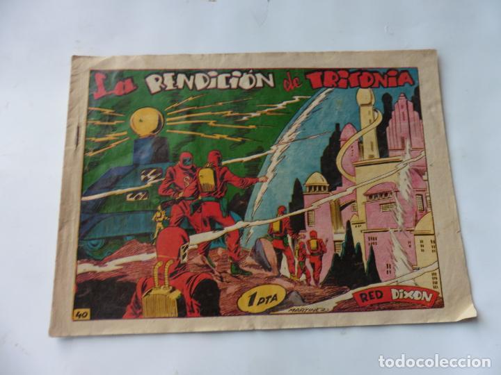 RED DIXON 1ª SERIE Nº40 MARCO ORIGINAL (Tebeos y Comics - Marco - Red Dixon)