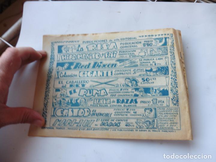 Tebeos: RED DIXON 1ª SERIE Nº56 MARCO ORIGINAL - Foto 2 - 232461300