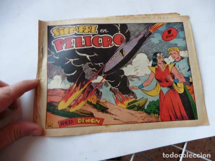 RED DIXON 1ª SERIE Nº56 MARCO ORIGINAL (Tebeos y Comics - Marco - Red Dixon)