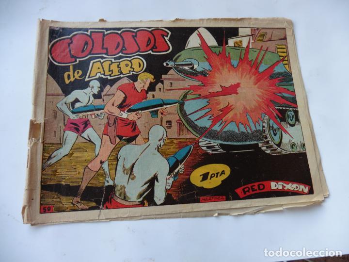 RED DIXON 1ª SERIE Nº59 MARCO ORIGINAL (Tebeos y Comics - Marco - Red Dixon)