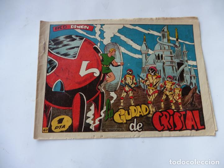 RED DIXON 1ª SERIE Nº60 MARCO ORIGINAL (Tebeos y Comics - Marco - Red Dixon)