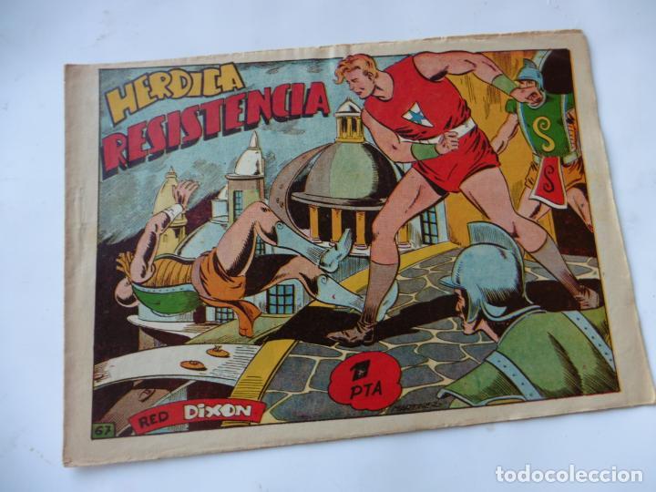 RED DIXON 1ª SERIE Nº67 MARCO ORIGINAL (Tebeos y Comics - Marco - Red Dixon)
