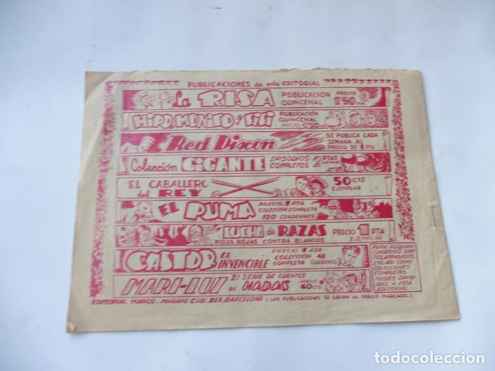 Tebeos: RED DIXON 1ª SERIE Nº69 MARCO ORIGINAL - Foto 2 - 232462025