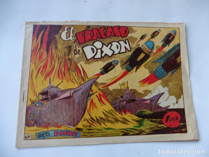 RED DIXON 1ª SERIE Nº69 MARCO ORIGINAL (Tebeos y Comics - Marco - Red Dixon)